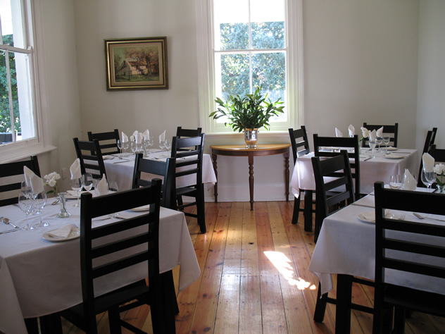 The dining room at 33 High Street. Photo courtesy of the restaurant.