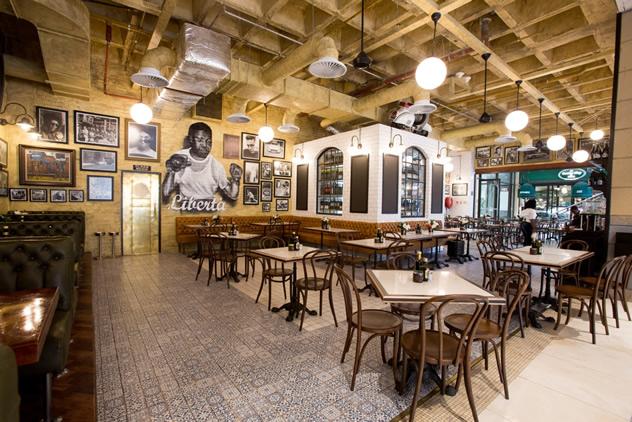 The interior at Remo's Liberta. Photo courtesy of the restaurant.