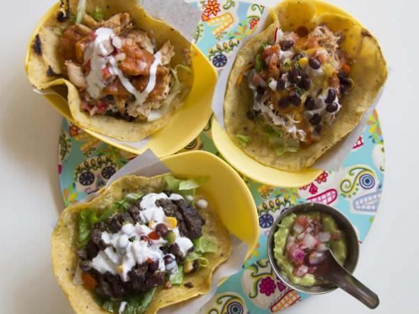 A selection of tacos at Baha Taco. Photo supplied.