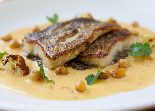 A fish dish at Bistro 13. Photo courtesy of the restaurant.