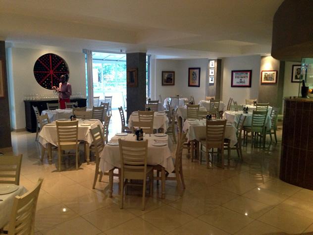 Inside at Amarcord Osteria Italiana. Photo courtesy of the restaurant.