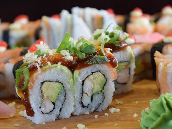 A sushi selection at Salushi. Photo supplied.