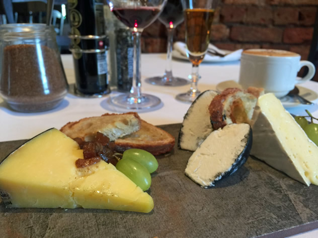 A cheese board at Societi Bistro. Photo courtesy of the restaurant.