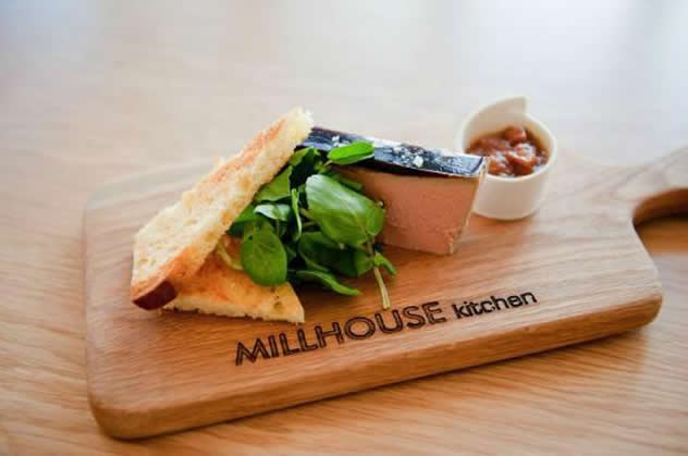 Food at the The Millhouse Kitchen. Photo courtesy of the restaurant.