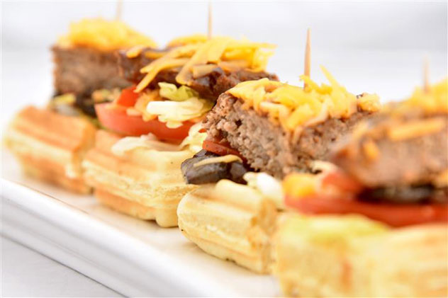 The burger waffle. Photo courtesy of the restaurant.