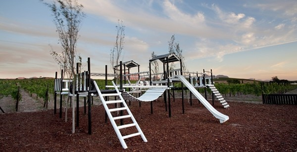 The jungle gym at Cafe Blanc de Noir. Photo supplied.