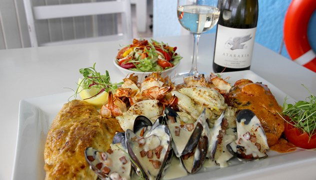 A most appetising seafood platter at Café Orca. Photo courtesy of the restaurant.