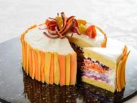 Carrot salad cake
