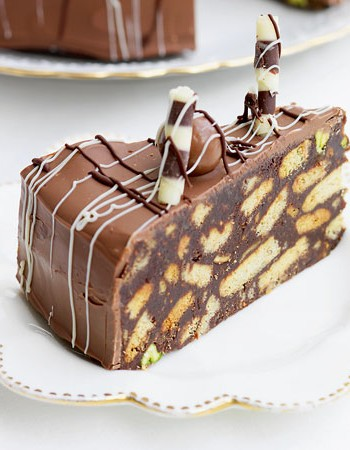 Recipe chocolate biscuit cake
