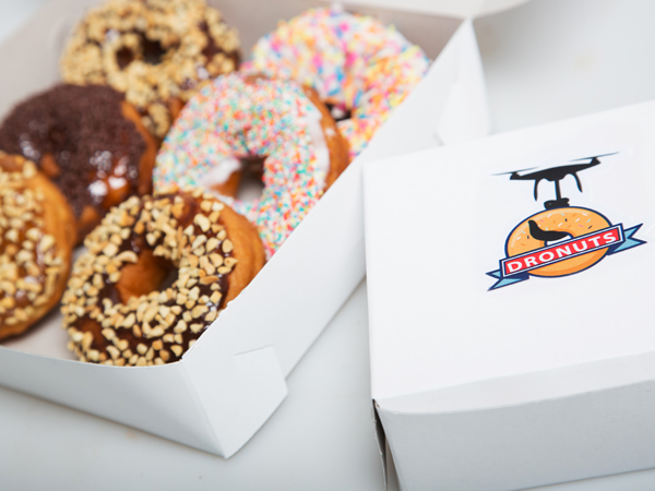 Dronuts: the local company delivering donuts by drone
