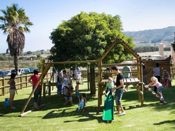 Parents with their kids at Eat@Simonsvlei. Photo supplied.