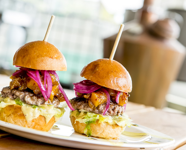 Tasty burgers at the 031 Bar and Restaurant. Photo courtesy of the restaurant.