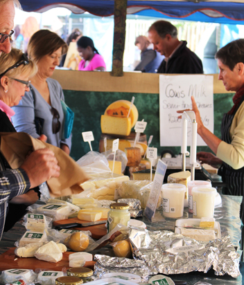 The Belnori Cheese stand at Hazel Food Market