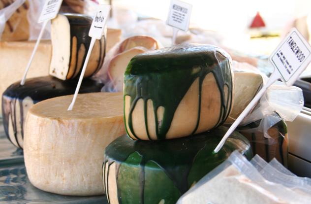 Belnori's cheese offering at Hazel Food Market