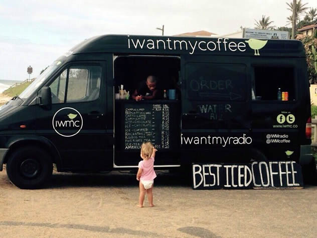 The I Want My Coffee truck. Photo courtesy of the restaurant.