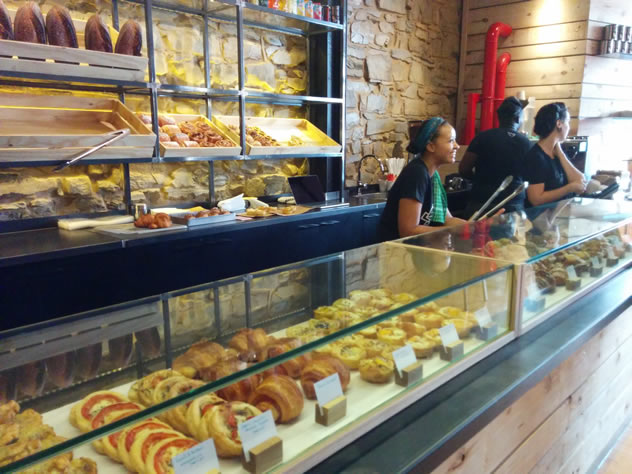 Pastry's and sweet treats at Jason Bakery. Photo courtesy of Katharine Jacobs.