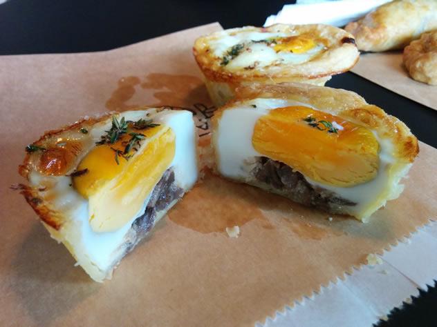 Another savoury treat at Jason Bakery. Photo courtesy of Katharine Jacobs.
