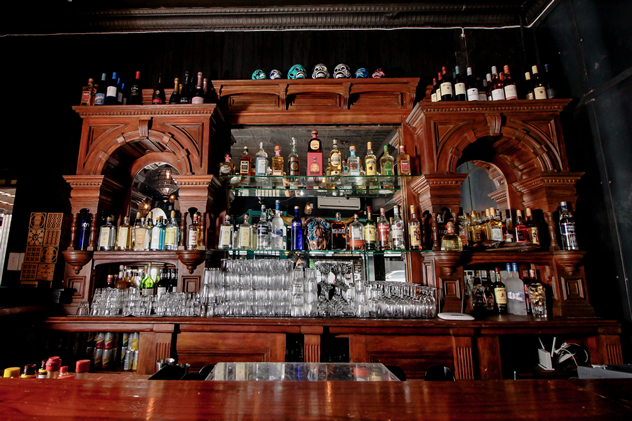 The bar at La Santa Muerte. Photo courtesy of the restaurant.