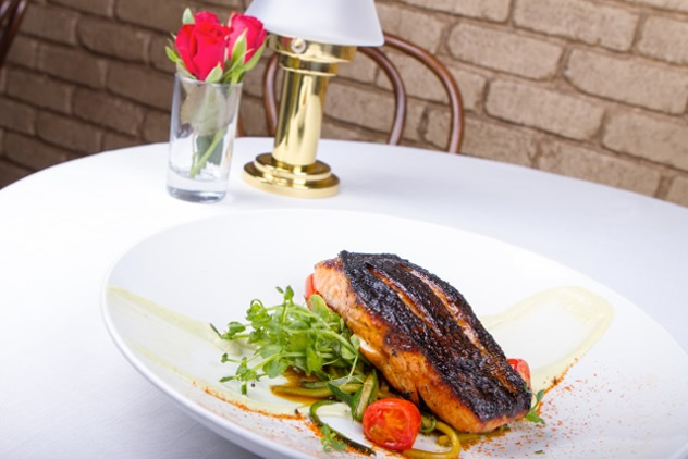Seared fish at The Dutch in Umhlanga. Photo courtesy of the restaurant.