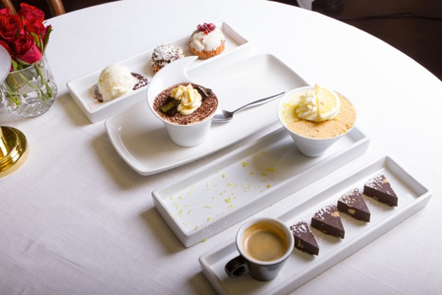 Dessert at The Dutch in Umhlanga. Photo courtesy of the restaurant.