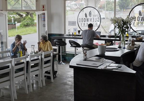Inside at The Glenwood Bakery. Photo supplied.