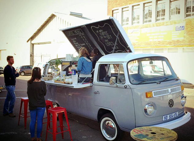 The Love Coffee truck. Photo courtesy of the restaurant.