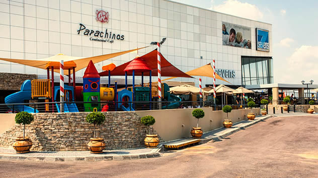 A colourful play area at Papachino's Silverlakes. Photo courtesy of the restaurant.
