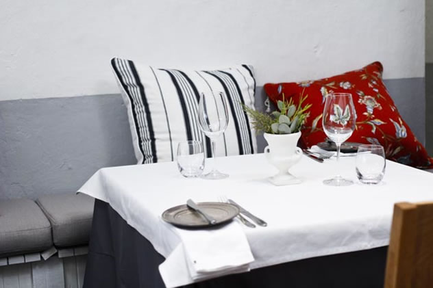 Comfortable seating at Restaurant Jardine. Photo courtesy of the restaurant.
