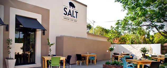 The courtyard area at Salt. Photo: supplied.