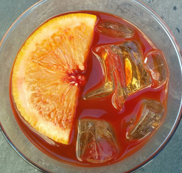 The salted caramel old fashioned. Photo by Katharine Jacobs.