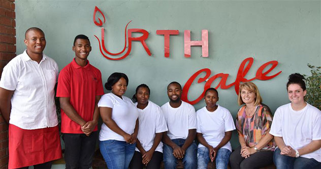 Bravo Bloem, bravo! Pictured: the Urth Cafe team.