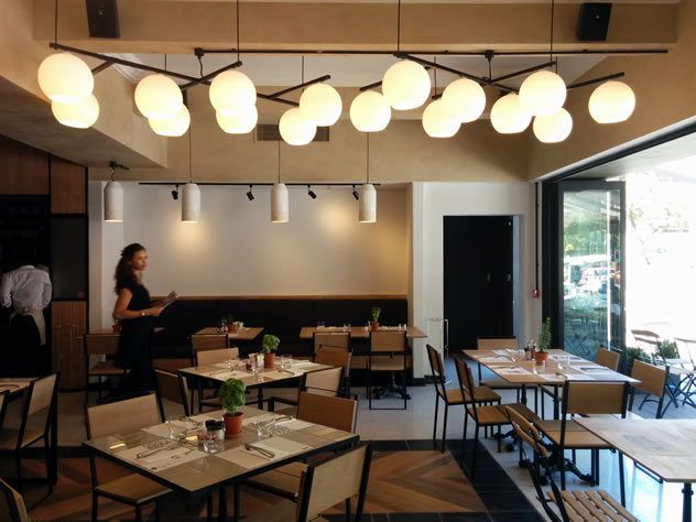 Another view of the interior at Locanda. Photo courtesy of Katharine Jacobs.