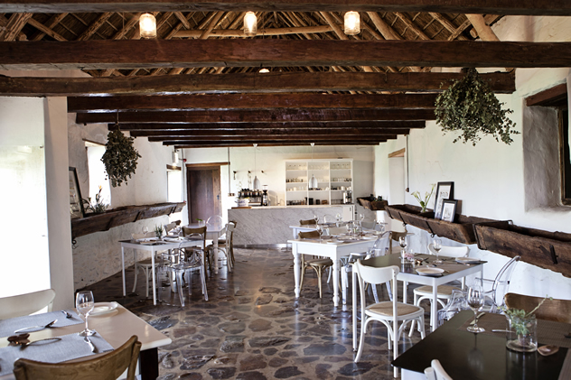 The interior at Phizantekraal Restaurant. Photo courtesy of the restaurant.