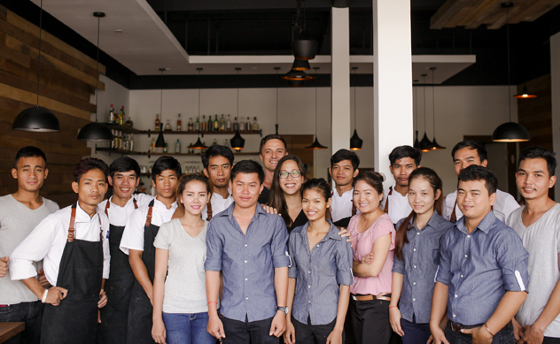 The team at The Tiger's Eye