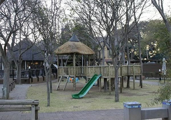 A jungle gym at The Blue Crane Restaurant. Photo supplied.