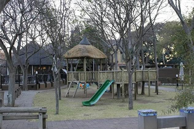 A jungle gym at The Blue Crane Restaurant. Photo courtesy of the restaurant.
