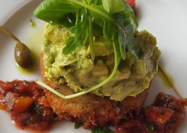 The fishcake starter at Ray's Kitchen. Photo courtesy of Nikita Buxton.
