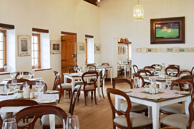 The interior at Lekke Neh at Weltevreden Estate. Photo courtesy of the restaurant.