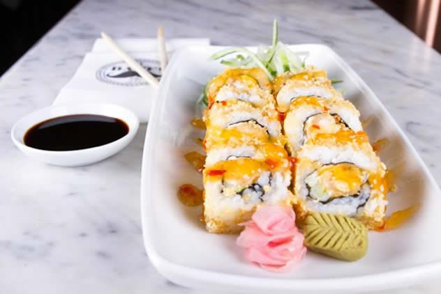 Sushi at The Dutch in Umhlanga. Photo courtesy of the restaurant.
