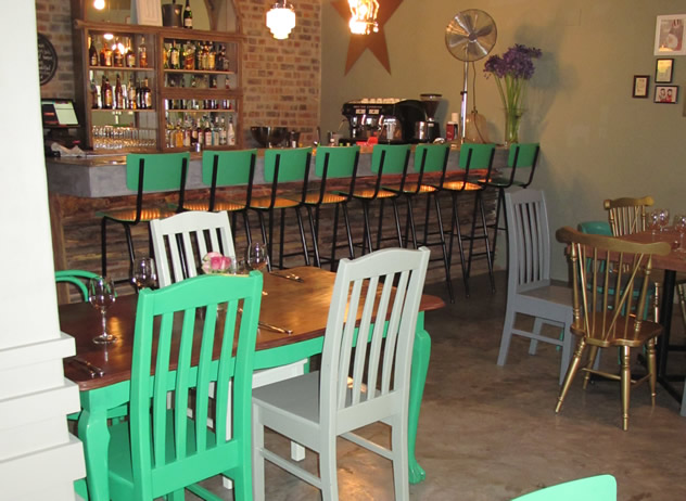 The interior at The Woodlands Eatery. Photo courtesy of the restaurant.
