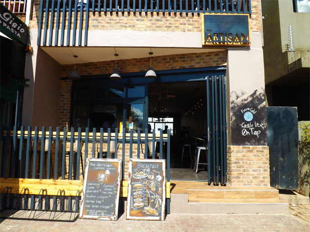The exterior of The Artisan.
