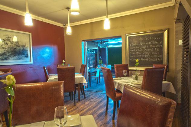The interior at Avanti Italian Restaurant.
