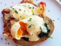 Eggs Benedict at Locanda