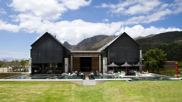 Bistro Sixteen82, overlooking the vineyards and mountains of Steenberg. Photo supplied.
