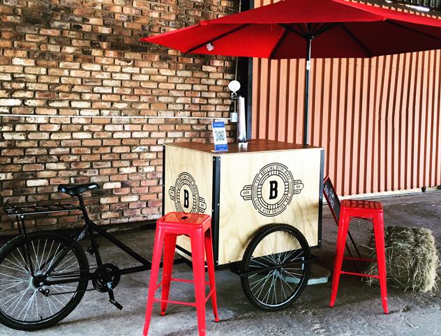 Bullcook Beerbike at Joziburg Lane