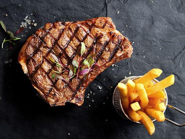 A steak at Butcher Block. Photo supplied.
