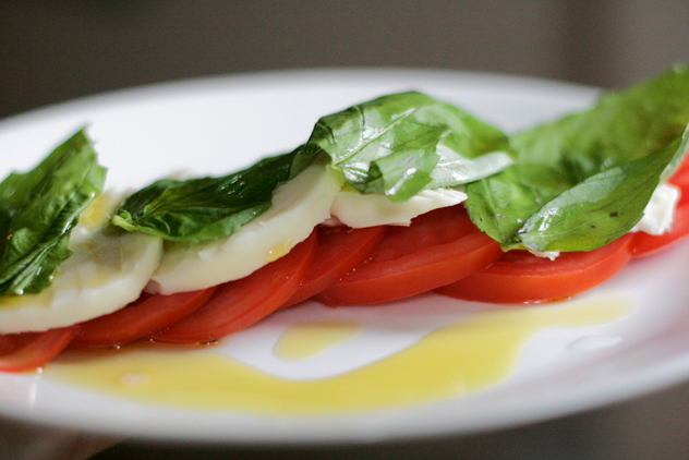 Caprese salad by Alexis Lamster