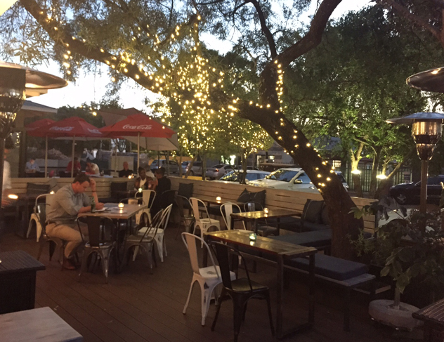 Courtyard at Culture Club