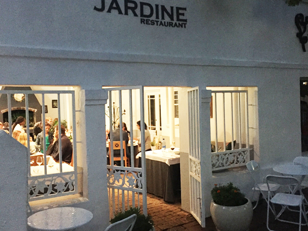 The accidental foodie: Restaurant Jardine leads new style of dining