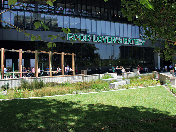 Food Lovers Eatery exterior